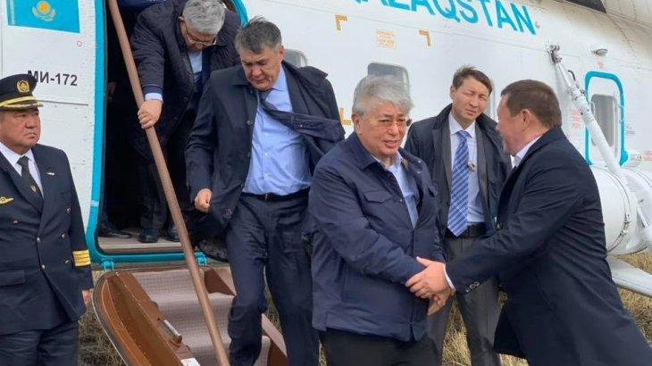 Президент Солтүстік Қазақстан облысына барды