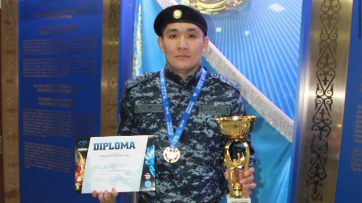 Павлодарлық полицей әлем чемпионатында жеңіске жетті