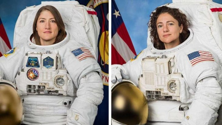 Әлемде ғарышқа ұшқан алғақшы екі әйел: олардың бірі аспанда 335 күн жүреді