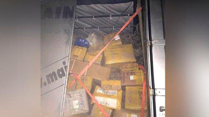 Алматыға 22 тонна сексеуілді жүк көлігімен заңсыз тасығандар ұсталды