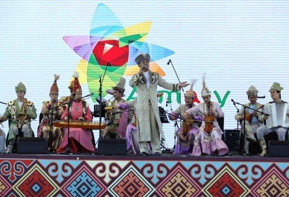 Алматыда халықаралық этнофестиваль өтіп жатыр