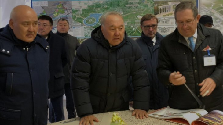 Нұрсұлтан Назарбаев Түркістан облысына барды