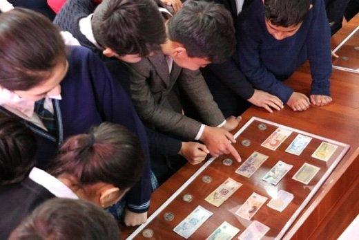 Ұлттық валюта күніне орай көрме ұйымдастырылды