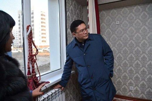 Қала әкімі «Shymkent City» тұрғын алабындағы барлық пәтердің жылуын тексерді