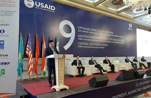 Шымкентте Орталық Азия сауда форумы өтіп жатыр