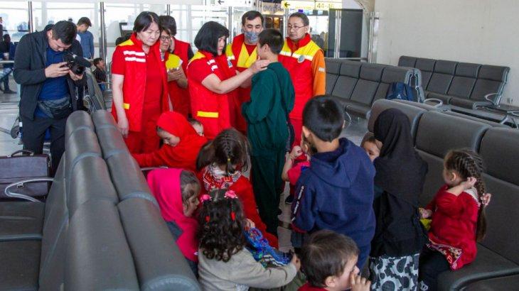 Ирактағы 14 бала Қазақстанға қайтарылды