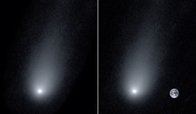 «Таңғалдық»: астрономдар комета фонында Жерді суретке түсірді