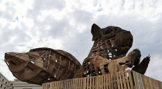 Алматыдағы тиін мүсінінің тағдыры қалай шешімін таппақ? - Алматы әкімі жауап берді
