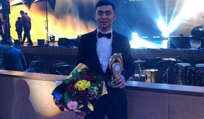 Каратэші жігіт Қазақстанның «үздік жас спортшысы» атағын жеңіп алды