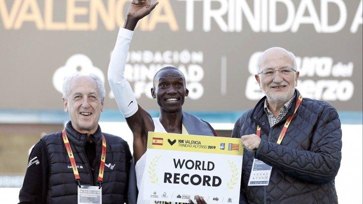 Угандалық желаяқ 10 шақырымға жүгіруден әлемдік рекордты жаңартты