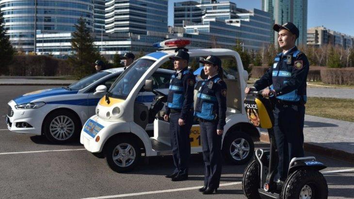 «Рухани жаңғыру»: Алматыда жаңадан төрт туристік полиция пункті ашылды