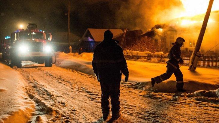Жаңа жыл түнінде Нұр-Сұлтанда саяжай өртеніп, сонда қыстап жүрген екі тұрғын қаза тапты