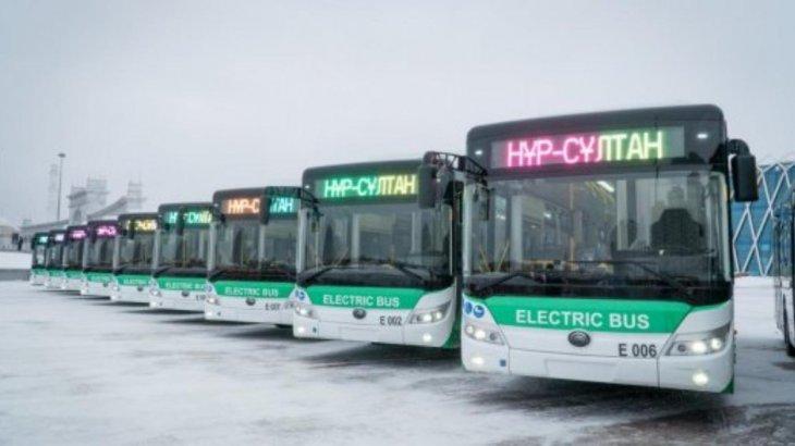 Елордалық 100 электроавтобустың 15-і аялдамаларға шықты