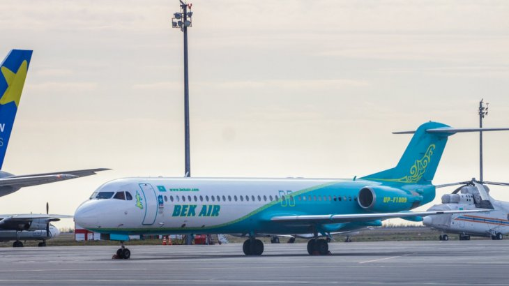 «Bek Аir» әуекомпаниясының бастығы жолаушыларға билетті әзір қайтара алмайтындарын айтты