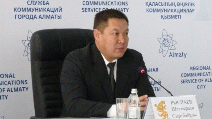 Алматы қаласы Алатау ауданының бұрынғы әкіміне «бюджет қаражатын жымқырды» деген айып тағылды
