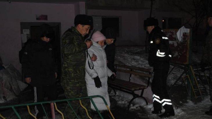 Атырау қаласындағы 16 қабатты тұрғын үйден өрт шықты