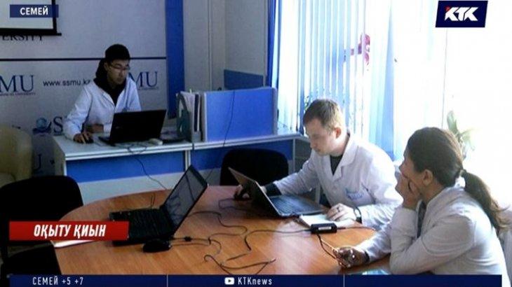 Семей медицина университетінің басшылығы студенттерді қашықтықтан оқытуға болмайтынын жеткізді