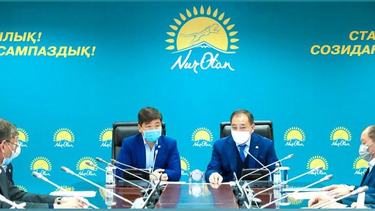 Миллионерлердің қорға түскен қаржысын «Nur Otan» партиясы тарататын болды