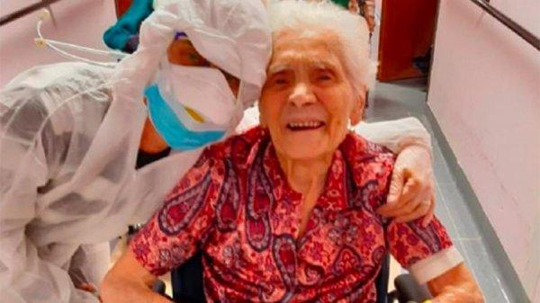20-жылдары «Испан тұмауынан» жазылған 104 жастағы кейуана коронавирустан да айығып кетті