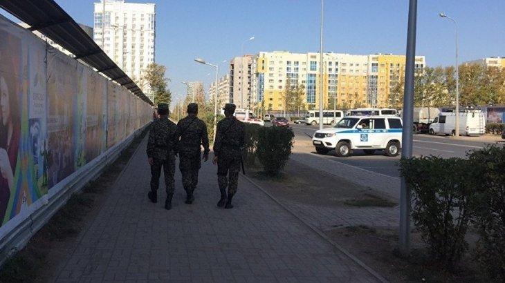 Қарағанды тұрғыны Ұлттық ұланның әскери қызметшілерімен төбелесіп қалды
