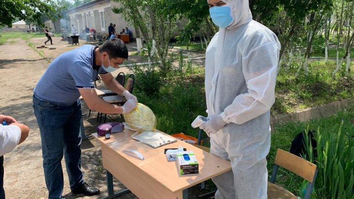 Мақтаарал ауруханаларында COVID-19 инфекциясымен ауырған бірде-бір науқас жоқ