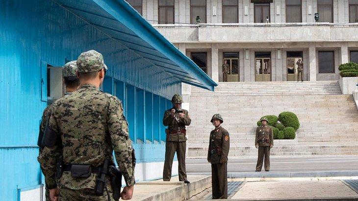 «Дайын отырмыз»: Солтүстік Корея әскері Оңтүстік Кореяның шекара бекетіне оқ жаудырды