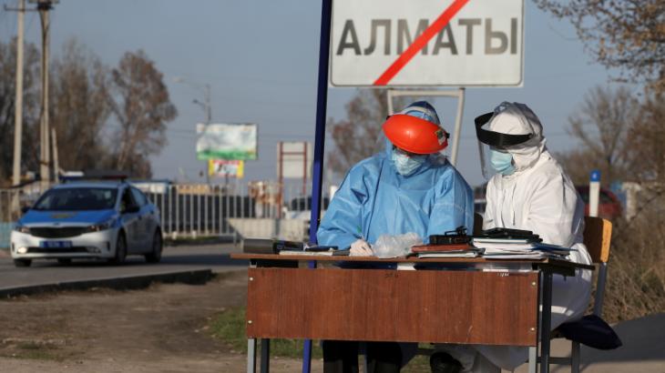 Алматы қаласының ішіне орнатылған блок-бекеттер алынып тасталды