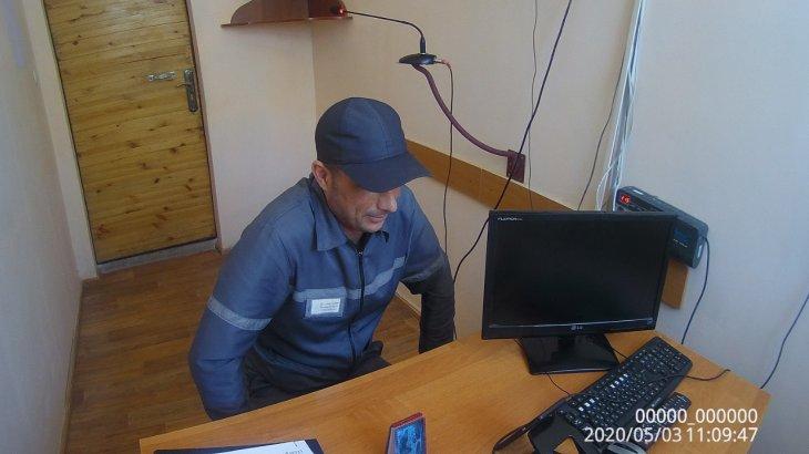 Қызылорда облысында сотталған адам шет елдегі туыстарымен онлайн байланысқа шықты