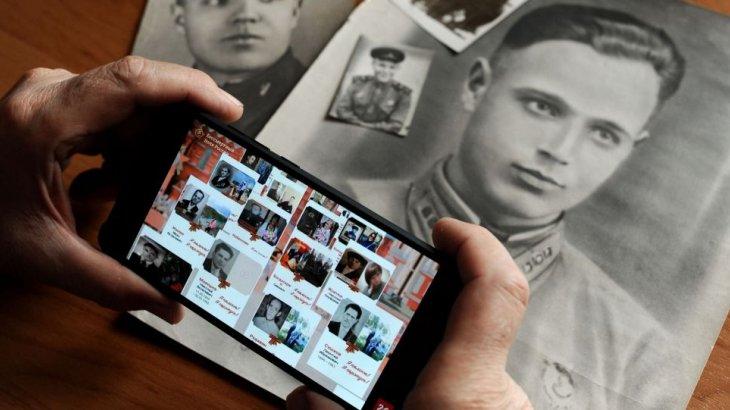 Жеңістің 75 жылдығына арналған «Мәңгілік даңқ» шеруі онлайн түрде өтті