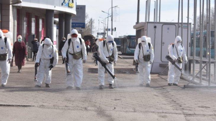 Қарағанды кәсіпкерлеріне карантин кезінде зарарсыздандыру жұмыстарын меңгеруге тура келген