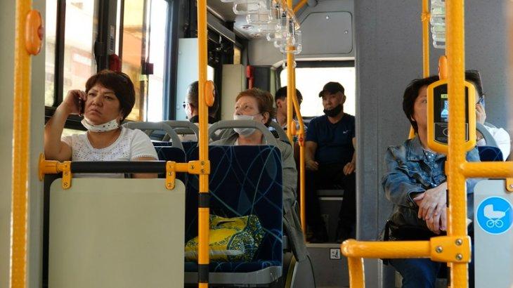 Елорда тұрғындары маска тағып жүрмесе, автобустар қайта тоқтауы мүмкін (ВИДЕО)