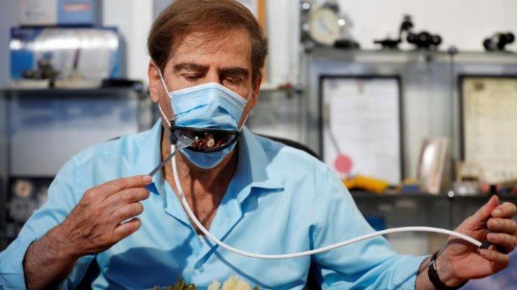 Тамақ жеуге болатын «революциялық маска» 350-1200 теңге тұрады