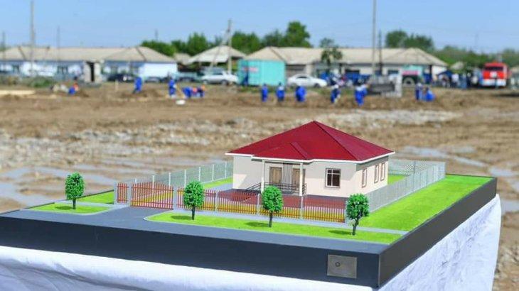 Болат Назарбаевтың қоры мақтааралдықтарға 20 үй салып беріп, 100 отбасыға ақша таратпақ