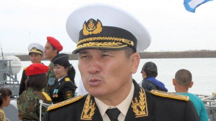 Қазақстандық адмирал өзіне шығарылған үкіммен келіспей, аштық жариялады