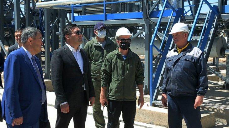 Түркістан облысында мұнай мен көмірді терең өңдеу өндірісі іске қосылады