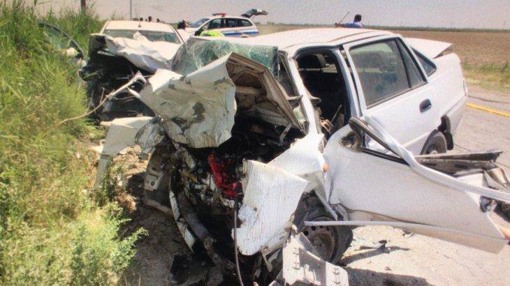 Түркістан облысында ірі жол апаты болды: қайтыс болғандар бар (ФОТО)
