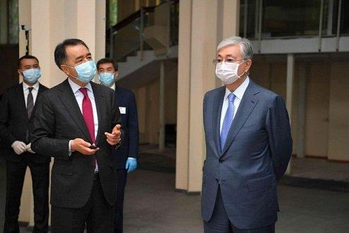Президент Алматыға сапарында бірнеше нысандарды аралады