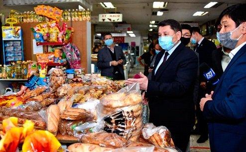 Алматының базар-дүкендеріне рейд жүргізілді