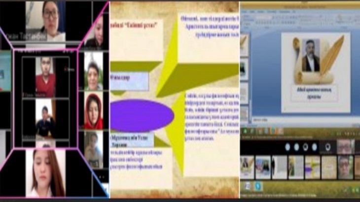 Ұлылар тойы: Медицина университетінде онлайн өткен шаралар