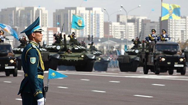 Мәскеудегі парадқа Қазақстанның десанттық-шабуылдау әскері де қатысатын болды