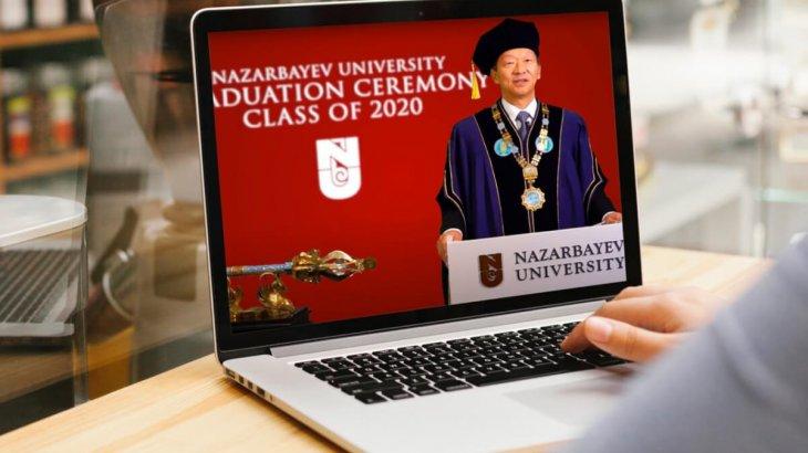 Назарбаев университетінің түлектері виртуалды форматта диплом алды