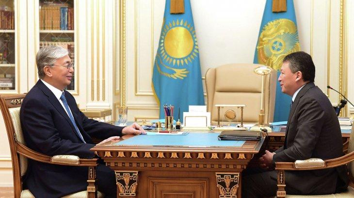Мемлекет басшысы Тимур Құлыбаевты қабылдады