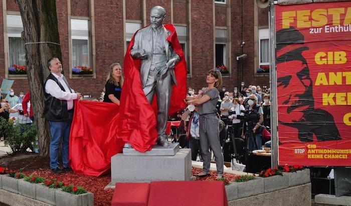 Парадокс: немістер ТМД тас-талқанын шығарған Ленин ескерткішін алғаш рет өз елдеріне орнатты