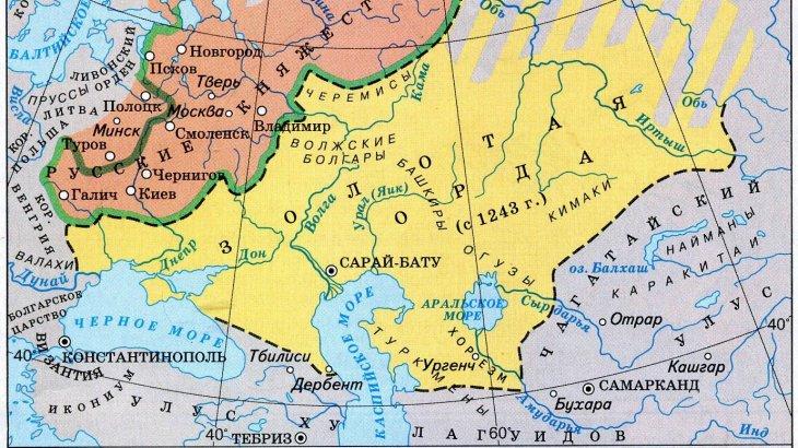 Алтын Орда дәуіріндегі Арал маңы әдебиеті