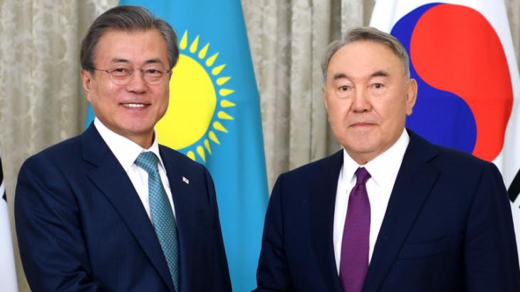 Корея Республикасының президенті Елбасыға жеделхат жолдады