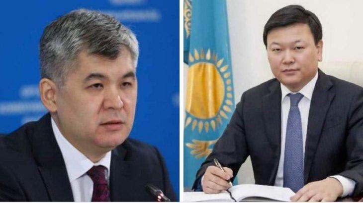 Елжан Біртанов министр лауазымынан босатылып, орнына Алексей Цой тағайындалды