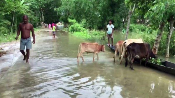 Үндістанда 1 млн-нан астам тұрғын үйсіз қалды