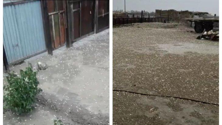 «Сұмдық-ай!»: Шілдеде Аралда бұршақ жауды (ВИДЕО)