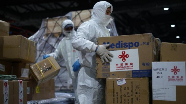 Қытайдан тағы гуманитарлық көмек келді