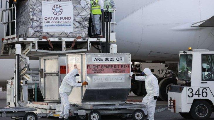 Катардан келген гуманитарлық көмек екі ай өтсе де халыққа әлі таратылмаған
